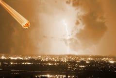 Meteorito fotografia de stock royalty free