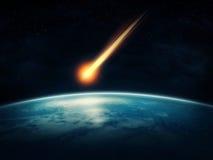 meteorito Fotos de archivo