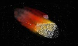 meteorito Imágenes de archivo libres de regalías