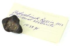 Meteorito 05 de Cheliábinsk Fotos de archivo libres de regalías
