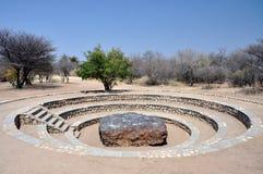 Meteorito de Hoba Imagenes de archivo