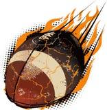 Meteorito del balompié stock de ilustración