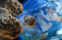 Meteoritos Fotos de archivo libres de regalías