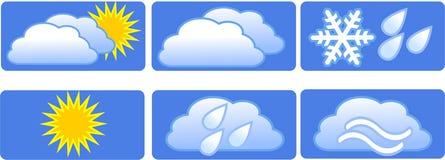 Meteorologia. ilustração royalty free