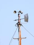 meteorological avkännare royaltyfri foto
