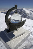 meteorological del två för heliographinstrument Royaltyfri Foto