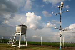 METEOROLOGICAL STATION Royalty Free Stock Image