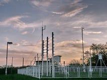 meteorological station Arkivbild