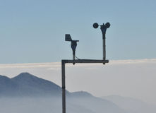 Meteorological station Stock Images