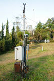 Meteorological station. For electronics concept Royalty Free Stock Images