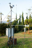 Meteorological station. For electronics concept Stock Photos