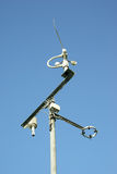 Meteorological station and tools. Stock Photography