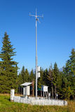 Meteorological station Stock Image