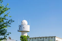 Meteorological weather station Royalty Free Stock Image