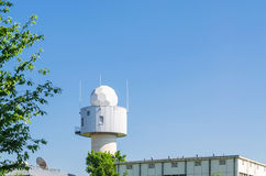 Meteorological weather station Stock Image