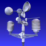 Meteorological Weatherstation Royalty Free Stock Photos
