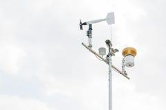 Meteorologieinstrument Stock Afbeeldingen
