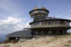 Meteorologisch waarnemingscentrum Stock Afbeeldingen