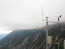 Meteorologische Post Royalty-vrije Stock Foto's
