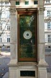 Meteorologisk kolonn i Zagreb Arkivbilder