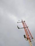 Meteorologisk station för apparater Royaltyfri Fotografi