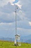 Meteorologisk station för väder Arkivfoton