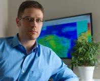 Meteorologist. Royalty Free Stock Photo