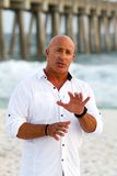 Meteorologist Jim Cantore Royalty Free Stock Images