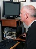 Meteorologist At Work Royalty Free Stock Photo