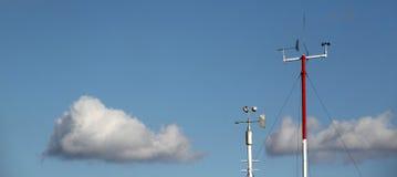 Meteorologiutrustning Royaltyfri Bild