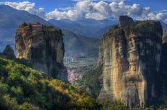 Meteoron,  Greece - monastery Holy Trinity Stock Images