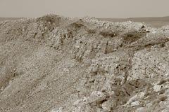 Meteorowy krater Zdjęcia Stock