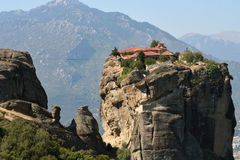 Meteors monasteries in Greece Stock Photography