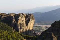 Meteors monasteries in Greece Royalty Free Stock Images