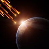 meteoryt Obrazy Stock