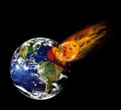 Meteoryt zdjęcie royalty free