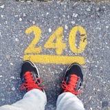 240 Meter Lizenzfreies Stockbild