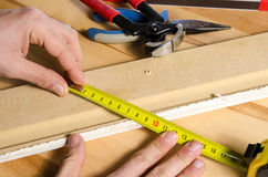 Meter Carpenter Royalty Free Stock Image