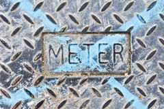 Meter cover Stock Images