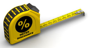 Meter discounts Stock Images