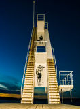 10 meter diving platform Stock Images