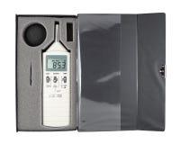 Meter för solid nivå fotografering för bildbyråer