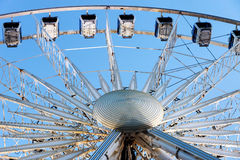 The 60 meter ferris wheel on top of the Transit Centre in Surfers Paradise, Gold Coast Stock Images