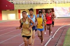 5000 Meter-Rennen Lizenzfreies Stockbild
