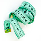 Meter ribbon abstract curling Royalty Free Stock Photography