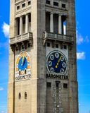 Meteorological Museum Tower in Munich Germany stock photos
