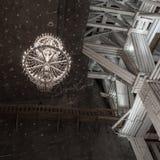 109 meter underjordisk Michalowice kammare i den salta minen i W Arkivbilder