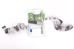Meterin euros Royalty Free Stock Photography