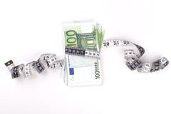 Meterin euros Royalty Free Stock Photography