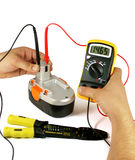 electric digital tester Royalty Free Stock Image